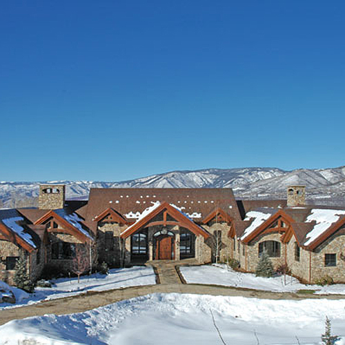 aspen residential architect tkga's chateau eagle pines home in aspen, co