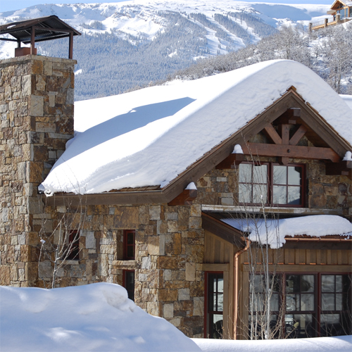 snowmass village residential architect tkga's horse ranch home in snowmass village, co